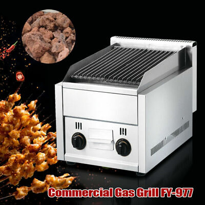 Commercial Gas Grill Bbq Equipment Restaurant Heavy Duty Char Broiler Grill Top