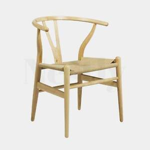 Hans Wegner Wishbone Replica Dining Chair CH24 Wetherill Park Fairfield Area Preview