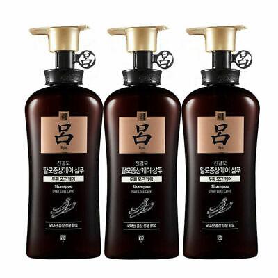 Ryo Ryoe Jingyeolmo Anti Hair Loss Shampoo 490ml x 3ea K-beauty