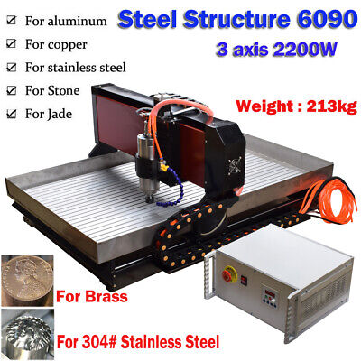 Cnc 6090 3axis 2.2kw Cnc Router Small Cnc Steel Metal Engraving Milling Machine