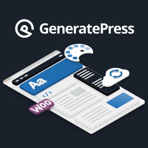 GeneratePress Premium – Responsive WordPress theme | Latest Version