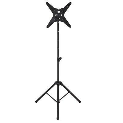 Homegear Mobile Folding Tripod TV Stand - Portable LED/LCD/Plasma Mount w/ Tilt