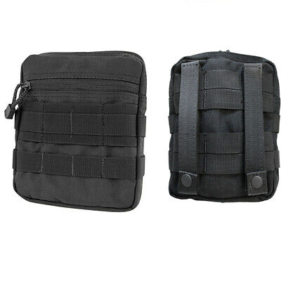 Design Carrying Pouch Case (Tactical MOLLE G.P Pouch Carrying Case PALS Multi-Purpose Pouch -BLACK )