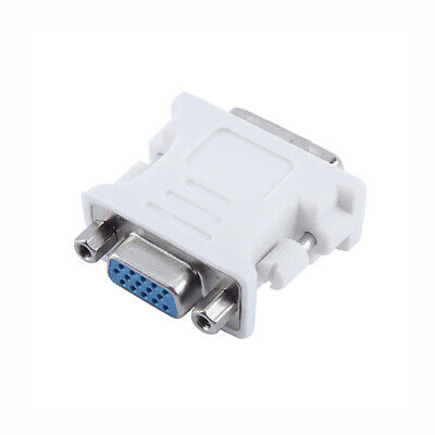Brand New DVI DVI-D 24+1 Pin Male to VGA Female M-F Video Adaptor Converter Dvi D Male To Vga Female