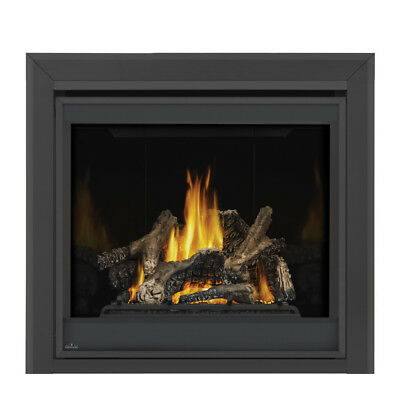 NAPOLEON GX70NTE DIRECT VENT FIREPLACE WITH PORCELAIN LINER NATURAL GAS