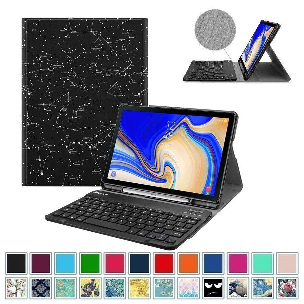 Keyboard Case For Samsung Galaxy Tab S4 10.5 SM-T830 2018 Fo