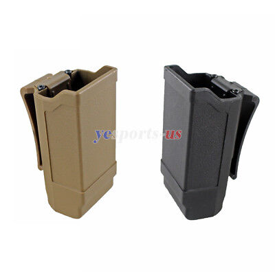 Rapid Double Stack Mag Pouch Carrier Single Magazine Holster for 9mm to .45 - Double 9mm Magazine Pouch