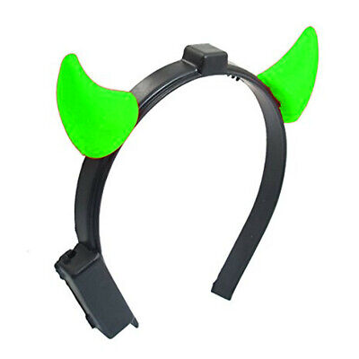Light Up Devil Horns Green - Light Up Devil Horns