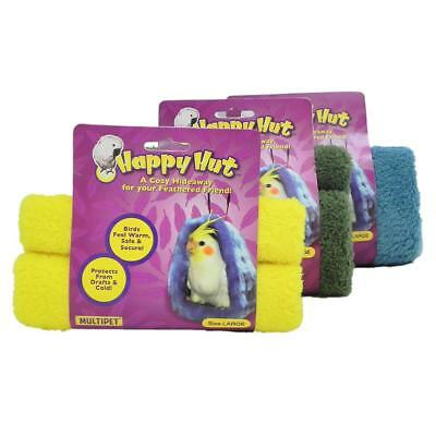 "Multipet Happy Hut for Birds-Large 6.5""  Colors Vary (Free Shipping in USA)"