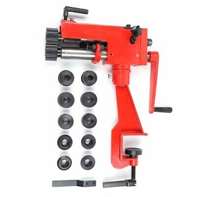 Stable 7 Sheet Metal Bead Roller Machine Steel Bender Low Carbon W6 Die Sets