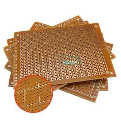 20pcs Diy Prototype Paper Pcb Board Universal 5x7cm 57cm Circuit Breadboard