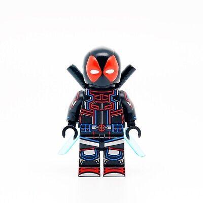 ⎡UG MINIFIGURES⎦Custom Tron Deadpool Lego Minifigure