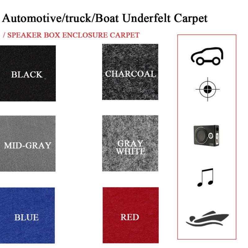 Sub woofer Speaker Boxes Carpet Enclosure Audio Wrap Under-felt Replacement Lot