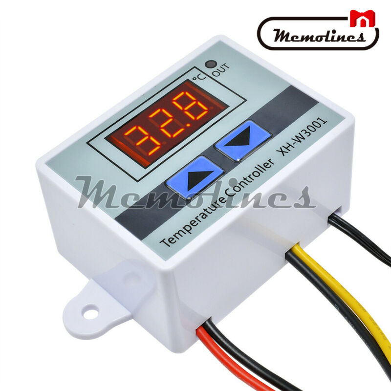 XH-W3001 AC110-220V LED Digital Temperature Controller Thermostat Control Switch