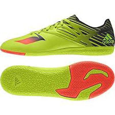 adidas Messi 15.3 Indoor Soccer Shoes -Cleats S74691 $100.00 Retail Adidas Indoor Soccer Cleats