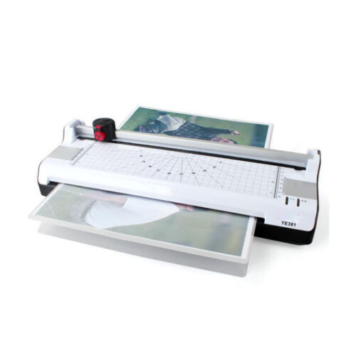 Fast Laminator Machine Hot and Cold Office Laminating Machine for Home Use