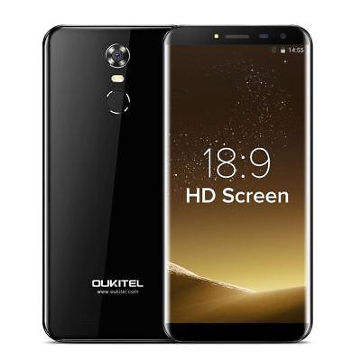 Oukitel C8 Quad Core Android7.0 2gb 16gb Rom 5.5 Inch Fingerprint Smartphone