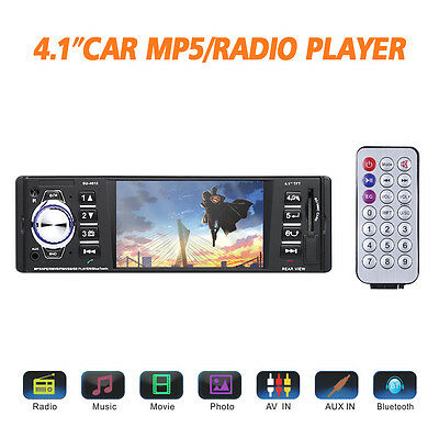 $38.99 - Car MP5 Player Stereo Audio Vehicle 4.1 inch Video USB AUX FM SD Radio Station