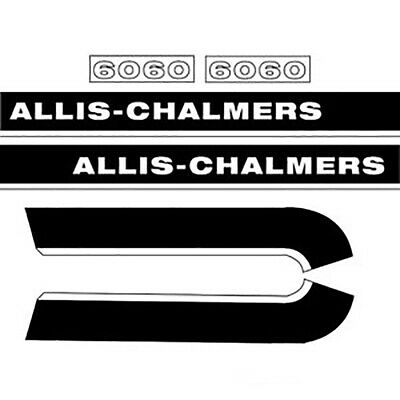 R4040 Decal Set Fits Allis-chalmers