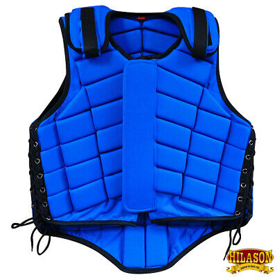 C-6-XS Hilason Adult Safety Equestrian Eventing Protective Protection Vest Horse