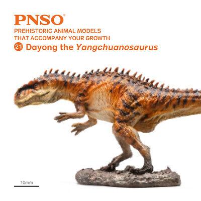 PNSO model 017 JONAS  ARCHAEOPTERYX plastic dinosaur prehistoric flying animal