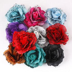 Knitted -Look Headband w/ Flower (and pattern ) - CROCHET