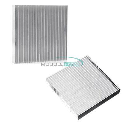 Heat Sink 90x90x15mm Aluminum Cooling Led Power Ic Transistor Dc Converter