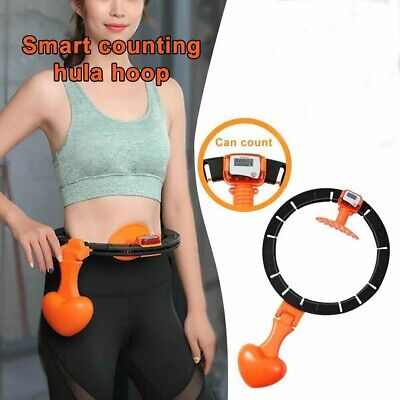 Smart Hula Hoop Lose Weight Exercise Detachable Portable Sports Circle