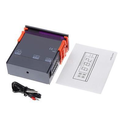 New 10a 110v 220v Digital Temperature Controller Temp Sensor Thermostat Mh1210w