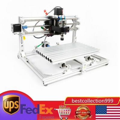Cnc 3018 Mini Desktop Cutter Engraver Diy Grbl Pcb Wood Router Laser Machine