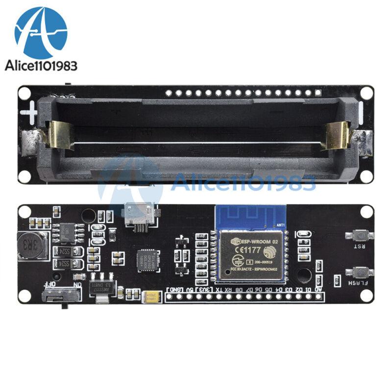 Wemos D1 Esp-wroom-02 Motherboard Esp8266 Mini-wifi Nodemcu Module 18650 Battery