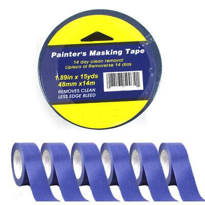 9 Rolls Painters Masking Paint Tape Blue 1.89x10yd Multi Surface Premium Grade