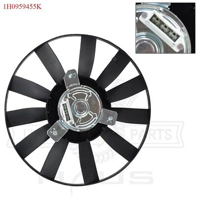 Auxiliary Cooling Fan Motor For VW Volkswagen Cabrio Golf Jetta 1.8L 1.9L 2.0L