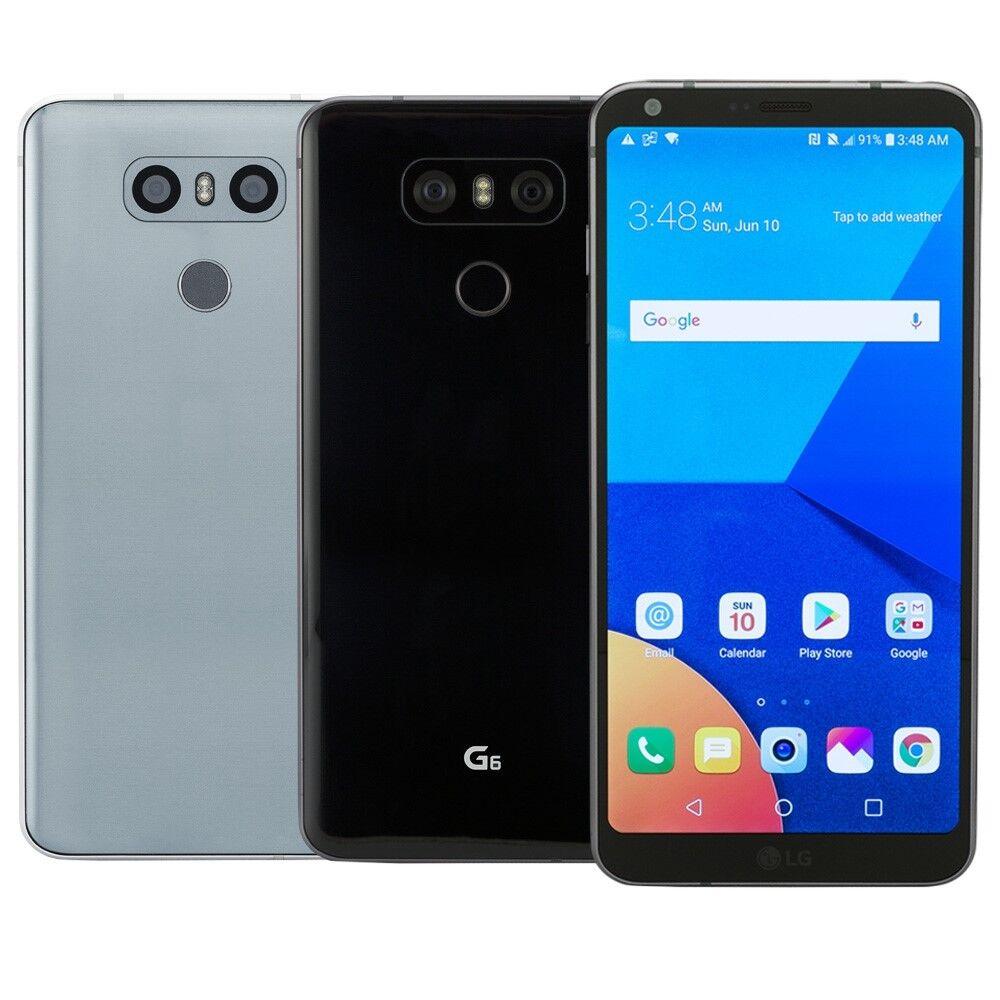 LG G6 32GB Smartphone Choose AT&T T-Mobile Verizon GSM Unlocked or Sprint LTE