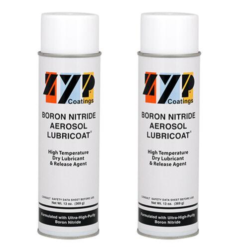2/pk. Zyp 13oz. Boron Nitride Mold Release