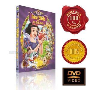 Snow White and the Seven Dwarfs - NEW DVD -v3