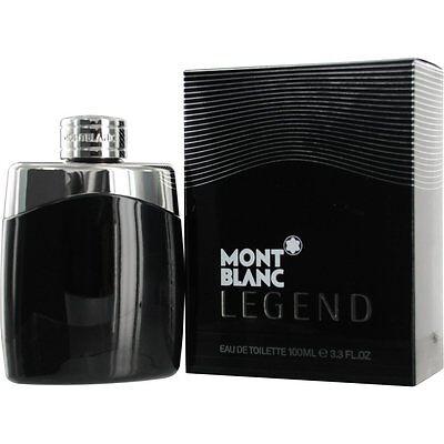 Mont Blanc Legend COLOGNE For Men 3.3 / 3.4oz 100ml Eau de Toilette Spray -