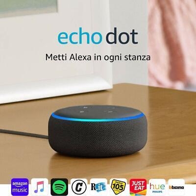 Echo Dot 3za generazione - Altoparlante intelligente con integrazione Alexa