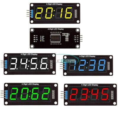 5pcs 0.56 4-digit Led Display Tube Decimal 7 Segments Clock Module Tm1637