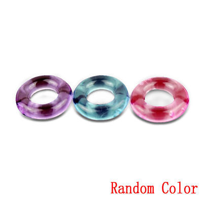 **USA SELLER** Super Stretchy Strong Stay Hard Donut Cock Rings ED Solution Tool