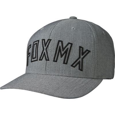 Fox Racing Cap Hat Direct Flexfit Hat Light Grey L/XL 20378 in stock for sale  Shipping to India