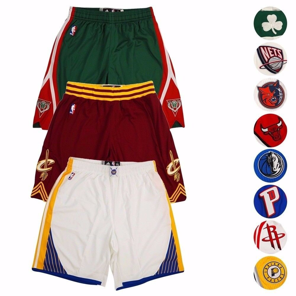 the best attitude e46d3 b7f32 NBA Adidas Authentic On-Court Climacool Team Game Shorts Collection Men's
