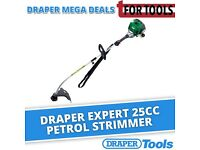 DRAPER Expert 31087 25cc Petrol STRIMMER Trimmer Electronic easy start