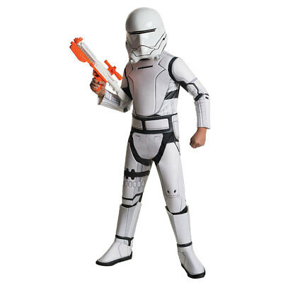 Kids Super Deluxe Flametrooper Star Wars Costume](Kids Starwars Costumes)