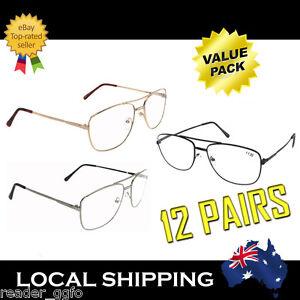 Cheap-12-Pairs-Metal-Frame-Reading-Glasses-Australian-Standard-Readers-1-0-4-0