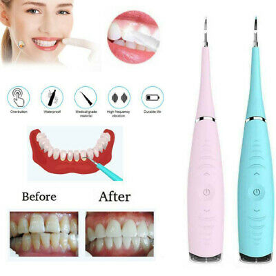 Electric Dental Calculus Stains Plaque Remover Tartar Scraper Teeth Polishing