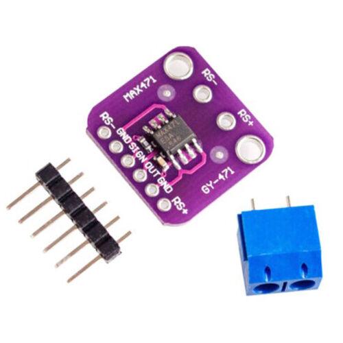 MAX471 3A Current Sensor Module Consume Current Detection DC 0-3A ATF