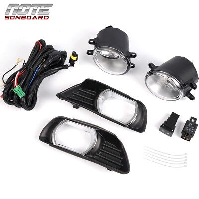 For 2007 2008 2009 Toyota Camry Bottom Clear Fog Lights  Switch Upgrade Pair