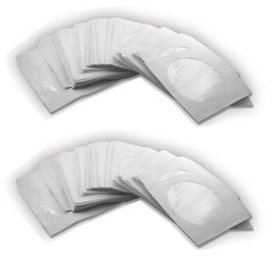 100 PAPIERHÜLLEN CD DVD HÜLLEN PAPIER BLURAY BD HÜLLE CASE BOX SLEEVE FÜR CDs