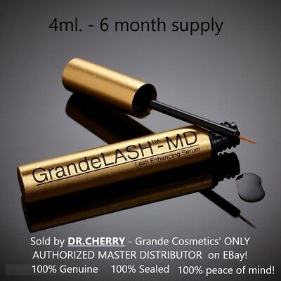 GrandeLASH-MD EXCLUSIVE 4ml / 6 MOS SUPPLY- AUTHORIZED MASTER DEALER Grande lash